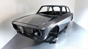 El carbono viaja a los 60 en este Alfa Romeo Giulia GTA