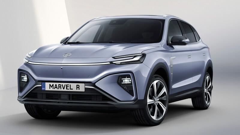 MG Marvel R: un SUV eléctrico con gran poder y autonomía