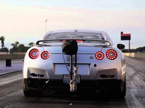 Este es el GT-R más rápido en el cuarto de milla