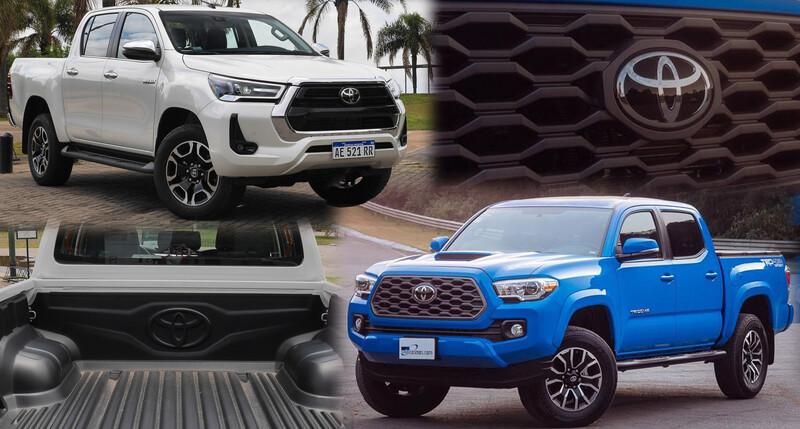 Toyota acercará la Tacoma a la próxima generación de la Hilux