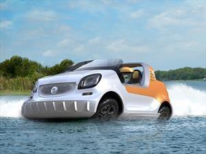 smart forsea, el primer auto anfibio de la marca