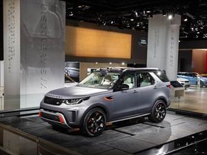 Land Rover Discovery SVX debuta