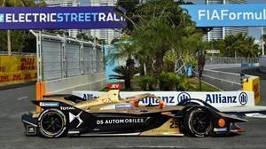 Jean-Eric Vergne y DS Techeetah ganan el ePrix de Sanya 2019