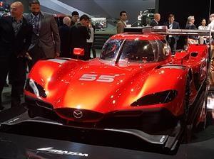 Mazda RT24-P, el nuevo auto de carreras de la marca japonesa