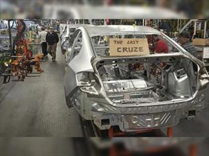 Chevrolet  finaliza la producción del Cruze en la planta de Ohio