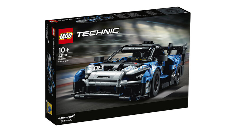 Tarde para navidad: nuevo LEGO Technic McLaren Senna GTR