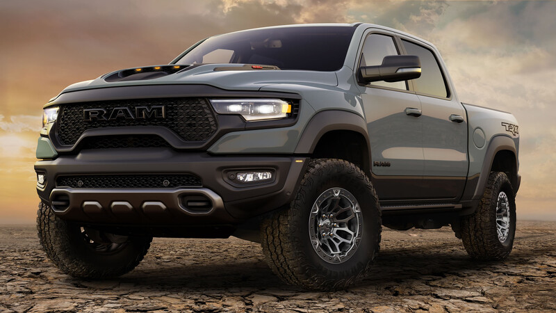 RAM 1500 TRX 2021, la pick-up más potente del mercado