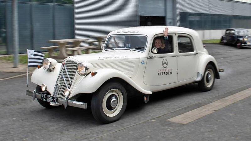 Una mujer recorrerá América a bordo de un Citroën de 1956