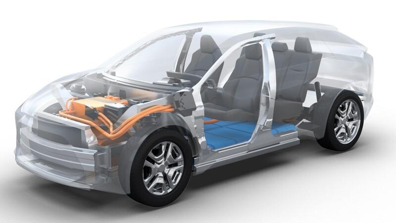 Subaru confirma que pondrá a la venta un SUV eléctrico