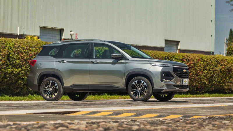 Chevrolet filtra en México el restyling de la Captiva