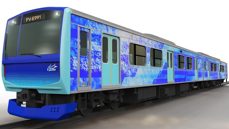 Toyota insiste en el hidrógeno, con un nuevo tren eléctrico desarrollado junto a Hitachi