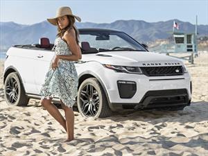 Range Rover Evoque Convertible y Naomie Harris