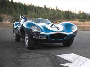 Jaguar D-Type 1955, el auto británico más caro del mundo
