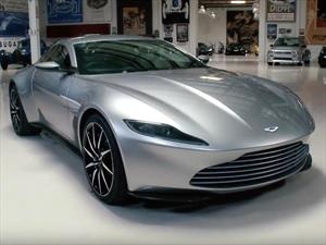 El Aston Martin DB10 de James Bond SPECTRE a subasta
