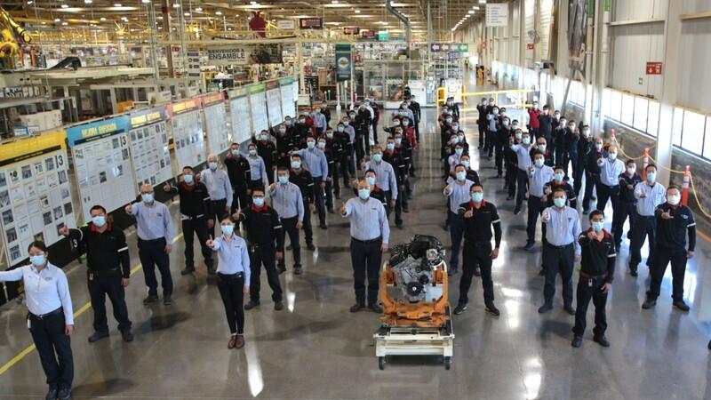 Stellantis produce su motor 21 millones en México