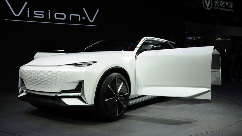 Changan Vision V, otra sorpresa china