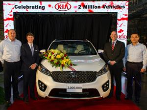 Kia ha producido dos millones de vehículos en Estados Unidos