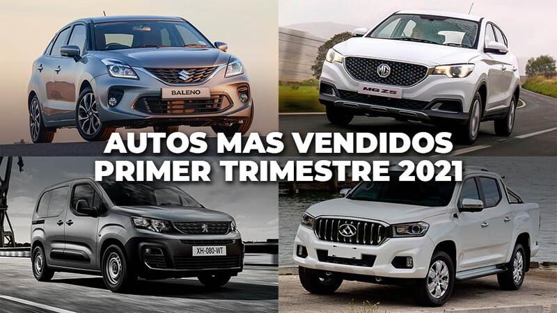 ¿Cuáles fueron los autos más vendidos en Chile este primer trimestre?