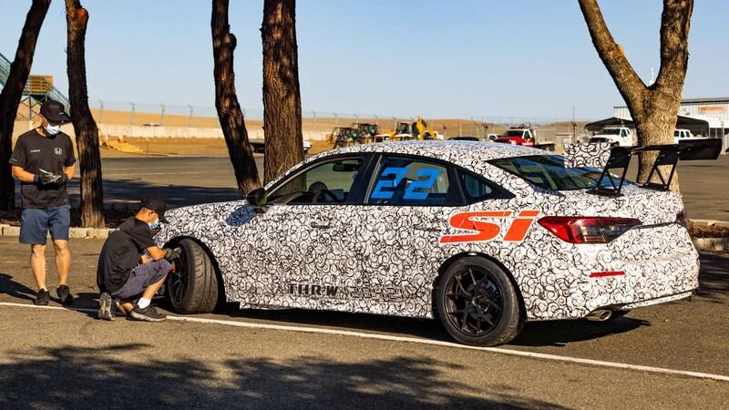 Honda se encuentra desarrollando un Civic Si de competición