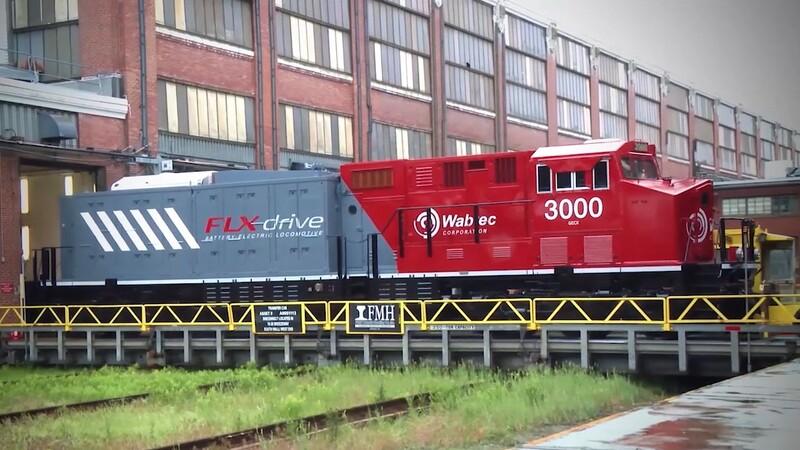 General Motors abre su abanico de acción y se pone a trabajar en ¡locomotoras!