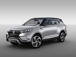 SsangYong llevó el nuevo XLV Concept a Ginebra