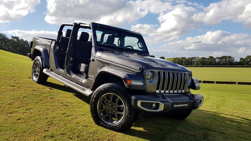 Jeep Gladiator se lanza en Argentina con menor precio que el Wrangler