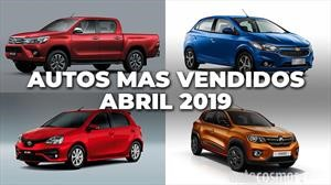 Los 10 autos más vendidos en Argentina en abril de 2019
