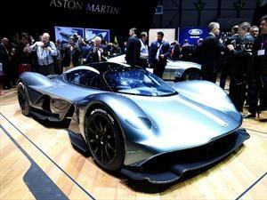 Aston Martin Valkyrie, listo para las batallas