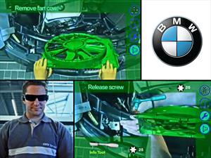 BMW ofrece la realidad aumentada a los mecánicos