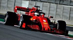 F1 2020 Test de pretemporada: el día de Vettel y Ferrari