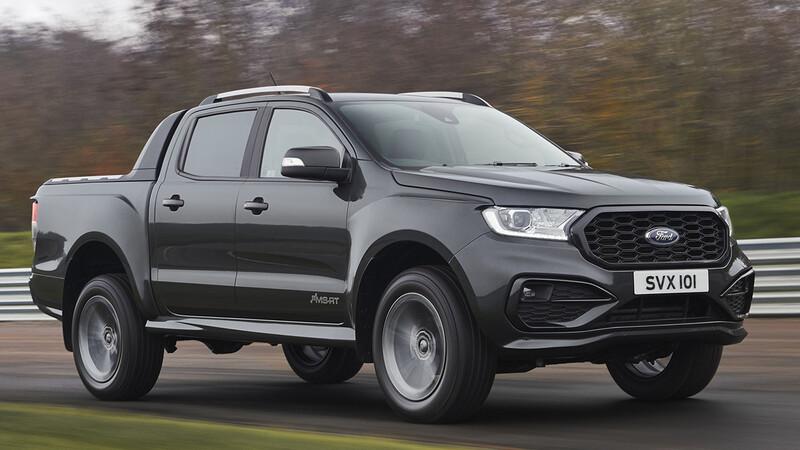 Ford Ranger MS-RT 2021, una pickup deportiva y refinada que no veremos en México