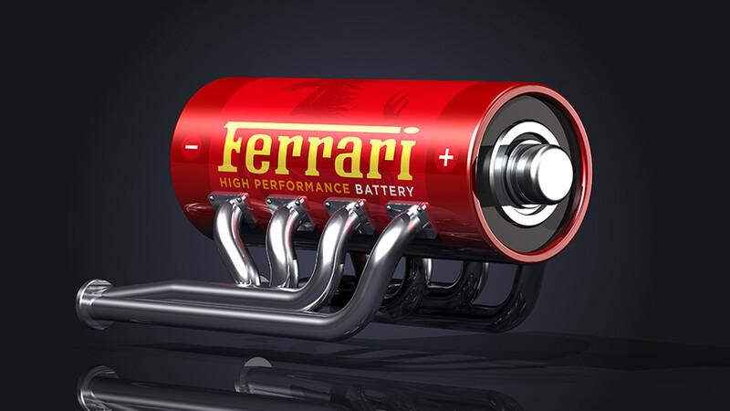 Il cavallino con batteria: Ferrari va a desarrollar un auto eléctrico