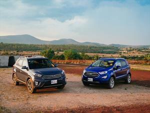 Frente a frente: Hyundai Creta 2018 vs Ford Ecosport 2018