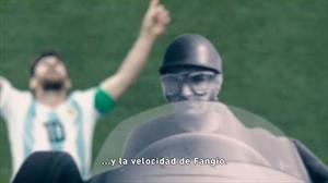 ¿Qué tiene Messi de Fangio? ¿Y del Pagani Zonda?