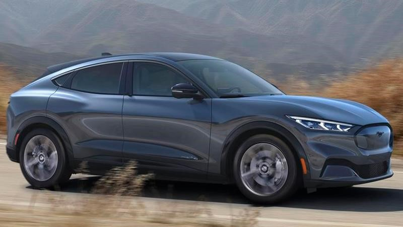 Ford actualizará el software del Mustang Mach-E de forma remota