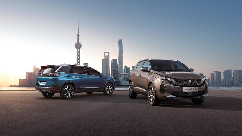 Peugeot presenta la nueva 3008 y 5008 en China