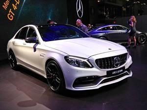 Mercedes-Benz C63 AMG 2019 obtiene mejoras en desempeño