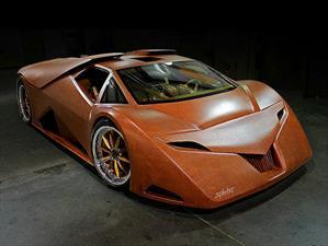 Este es Splinter, el super carro de madera