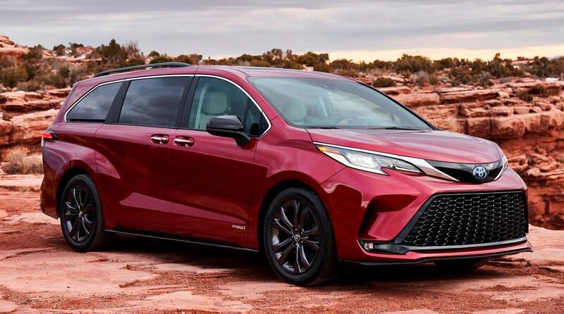 Toyota Sienna 2021 obtiene el Top Safety Pick+ en pruebas de impacto