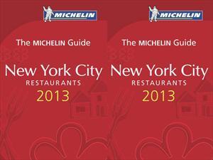 Michelin presenta su nueva guía New York City 2013