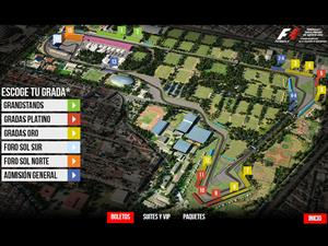 Los precios oficiales del Gran Premio de México 2015