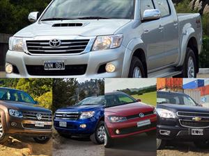 Top 5 las pick-ups más vendidas en noviembre de 2014