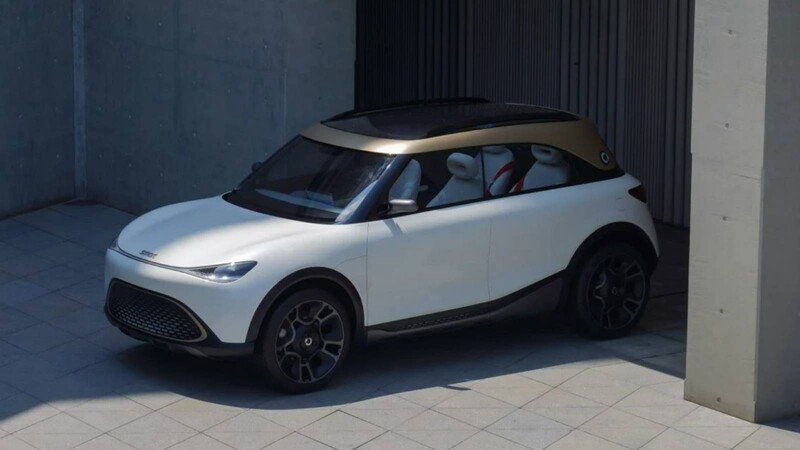 Así es el Concept smart # 1, la próxima SUV eléctrica fabricada en China por Geely