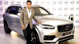 Falcao García es nuevo embajador de Volvo en Colombia