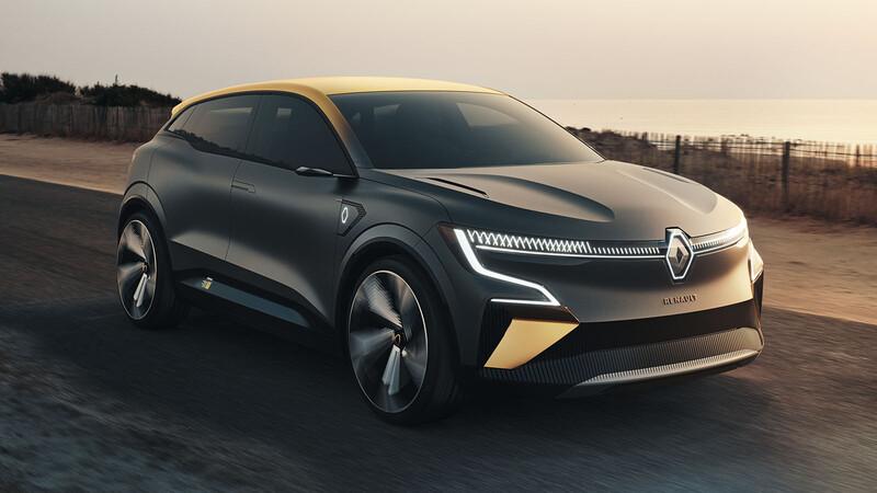 Renault revela el futuro del Megane con un conceptual eléctrico