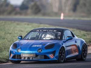 Alpine A110 Cup se presenta la versión de carreras