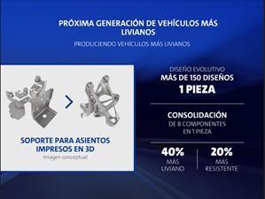 GM producirá piezas más ligeras con impresoras 3D