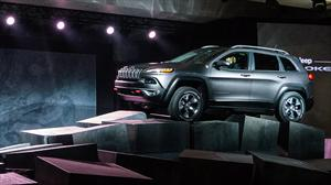 La nueva Jeep Cherokee, en vivo