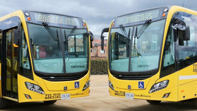 323 nuevos buses padrones para el SITP en Bogotá