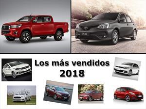 Los 10 autos más vendidos de 2018 en Argentina